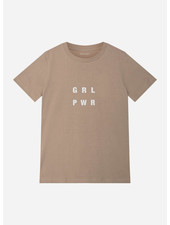 Designer Remix Girls stanley power tee - trench