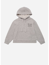 The New Society logo kangaroo sweater grey vigore