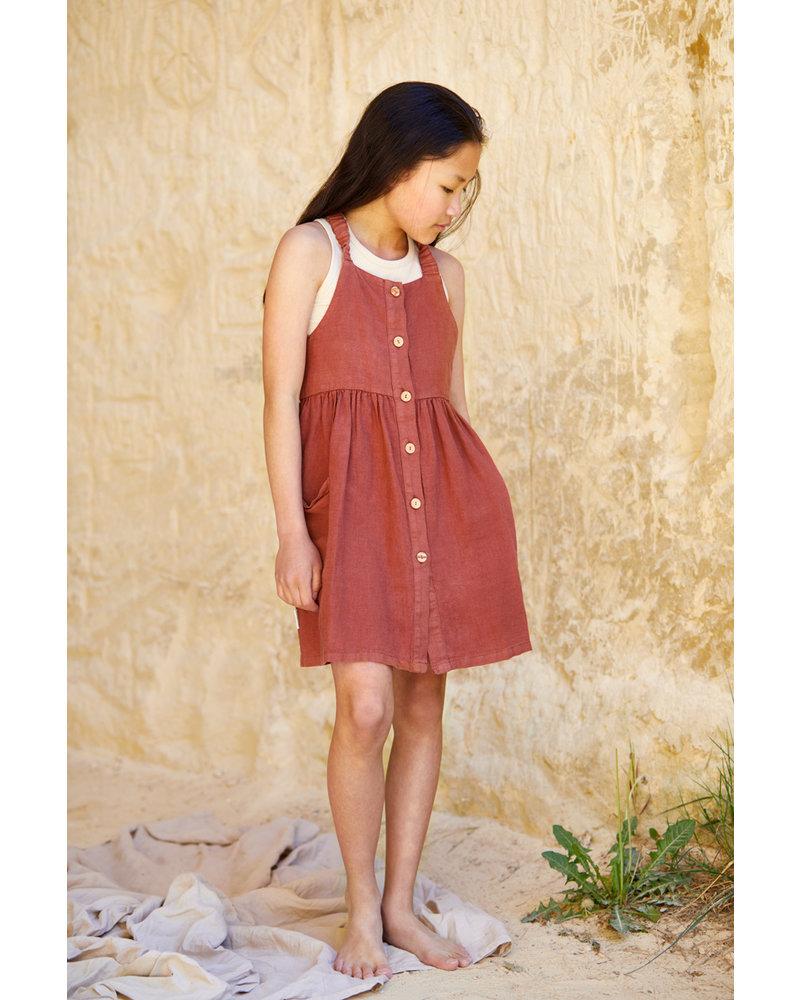 Mingo pinefore dress - sienna rose