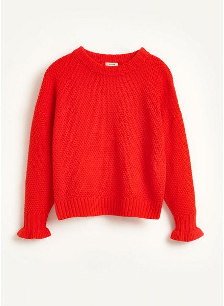 Bellerose gelse knitwear - lipstick