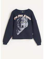 Bellerose fade sweatshirts - navy