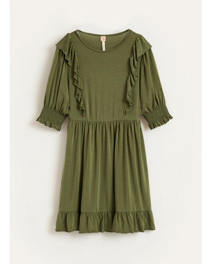 Bellerose miu dresses - army