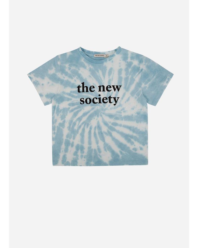 The New Society the new society tee deep blue