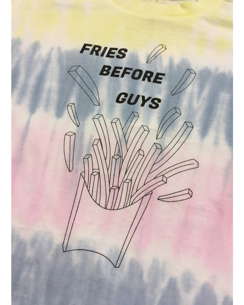 Designer Remix Girls stanley fries tee - tie dye