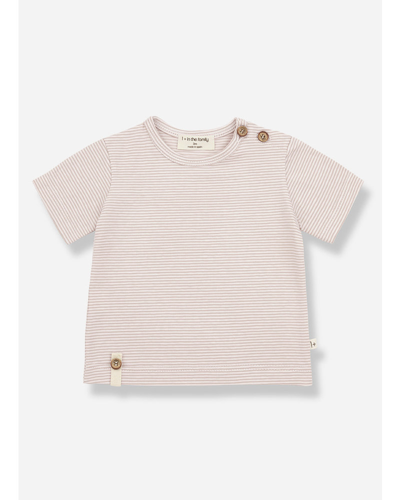 1+ In The Family blai short sleeve tshirt - nude