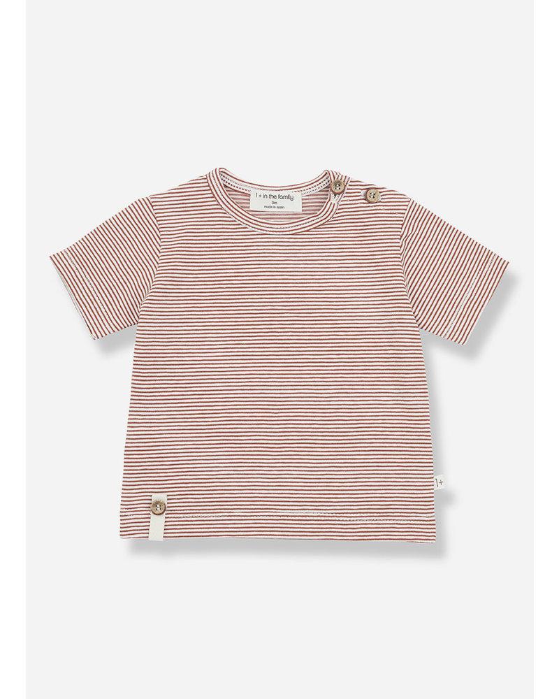 1+ In The Family blai short sleeve tshirt - roibos