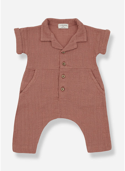 1+ In The Family carlota jumpsuit - roibos