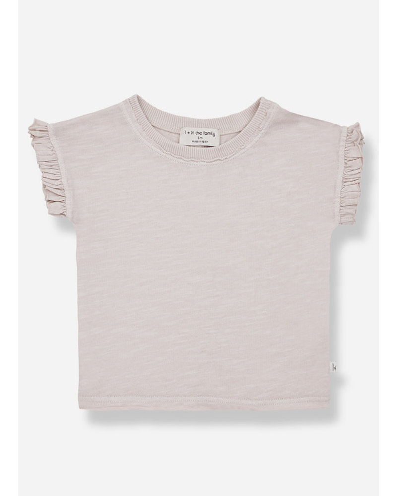 1+ In The Family mireia sleeve tshirt - rose