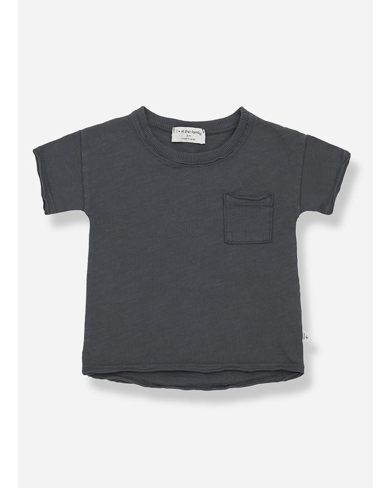 1+ In The Family nani short sleeve tshirt - anthracite