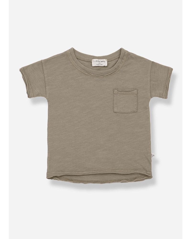 1+ In The Family nani short sleeve tshirt - khaki