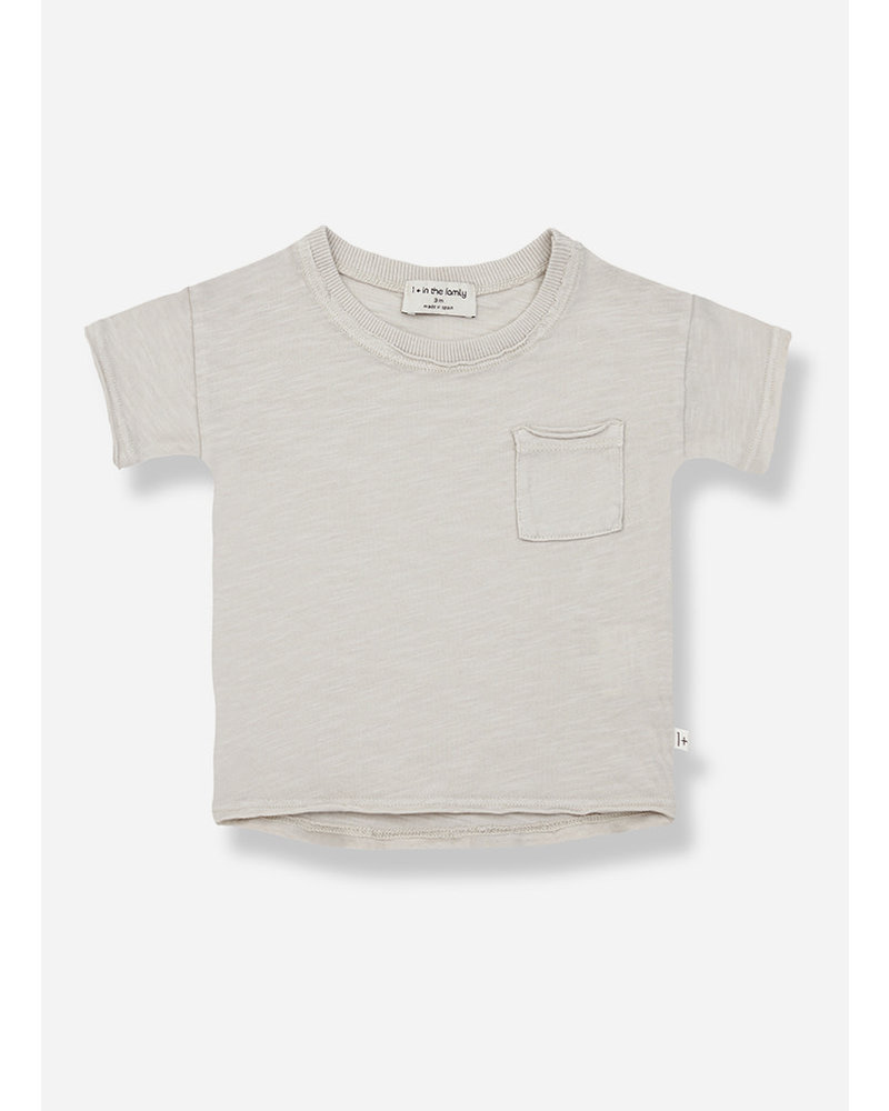 1+ In The Family nani short sleeve tshirt - stone