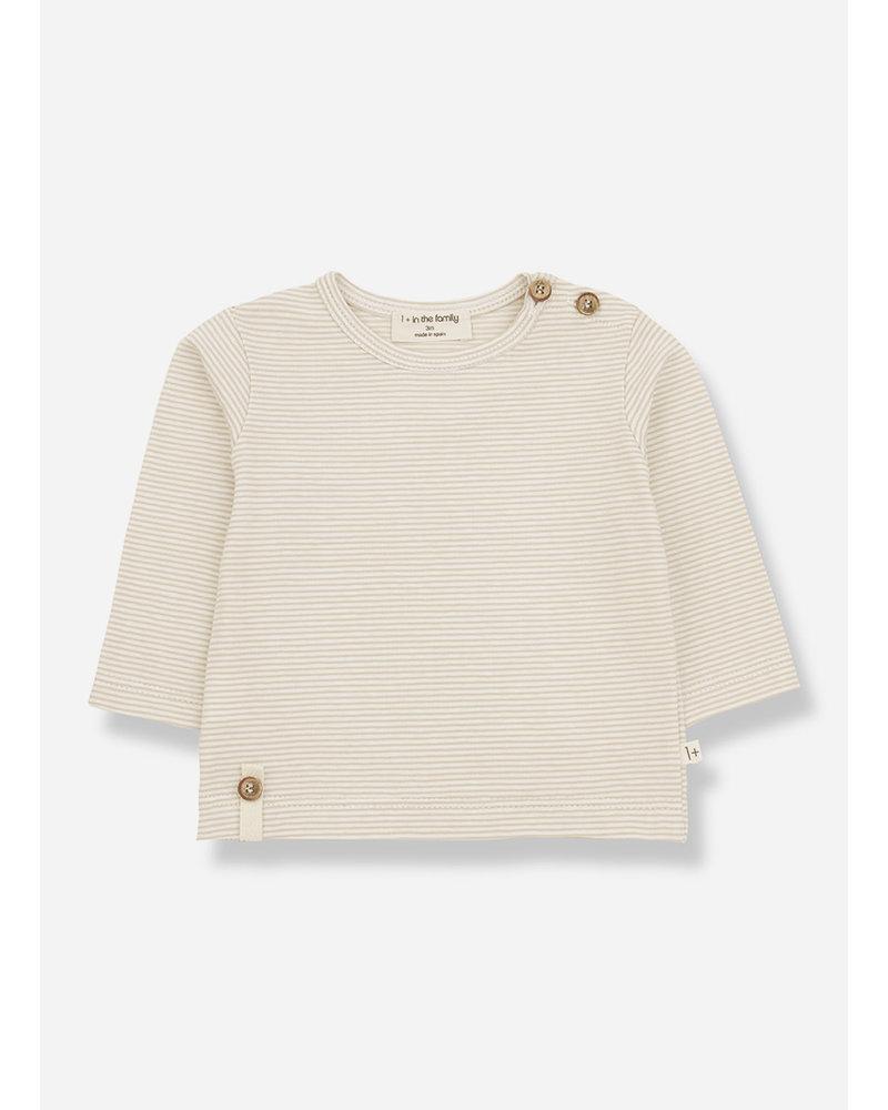 1+ In The Family odon long sleeve tshirt - beige