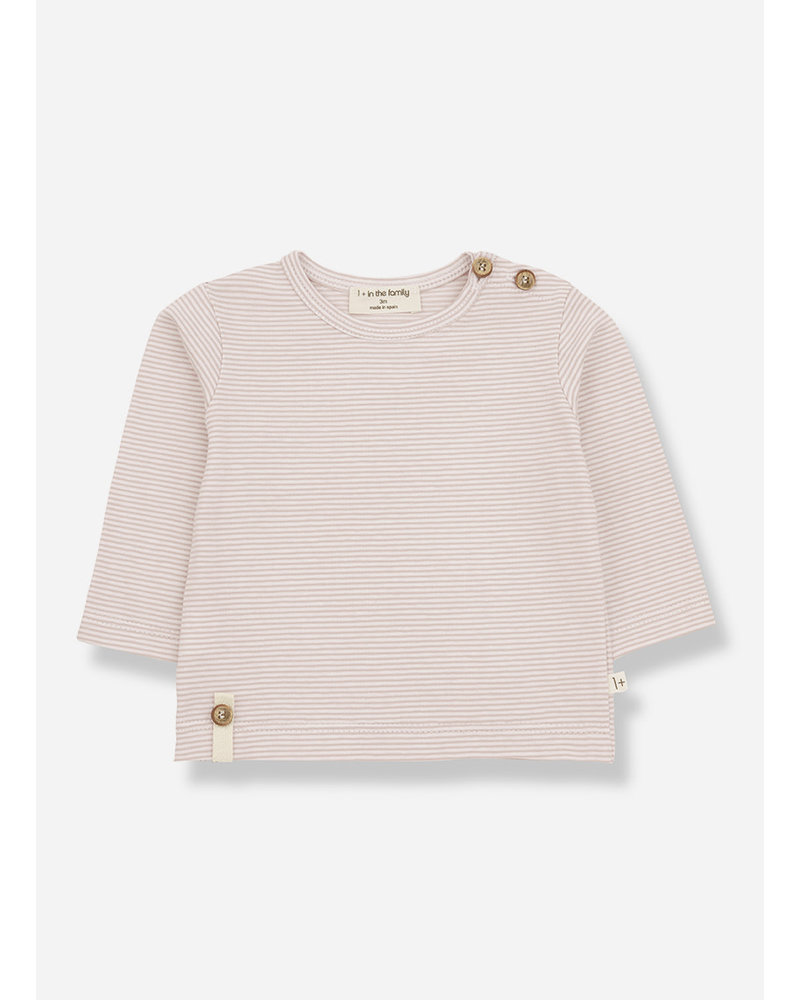 1+ In The Family odon long sleeve tshirt - nude