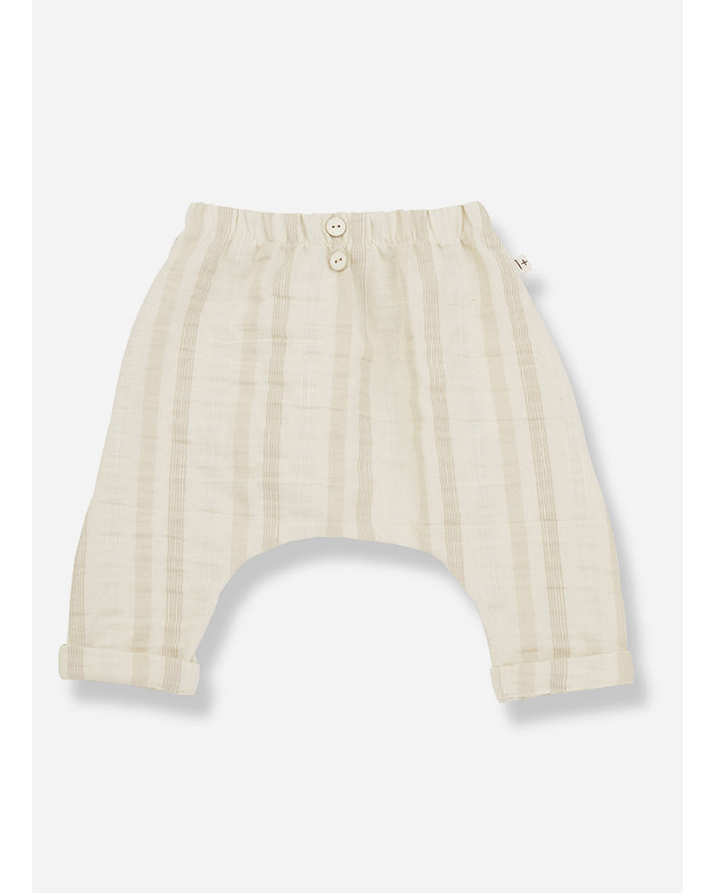1+ In The Family pau baggy pants - natural