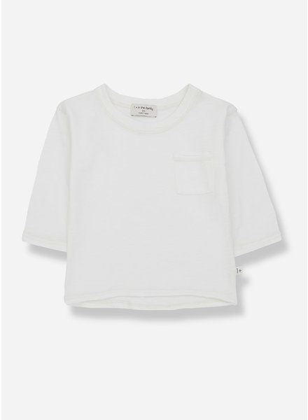 1+ In The Family pere long sleeve tshirt - off white