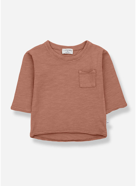 1+ In The Family pere long sleeve tshirt - roibos