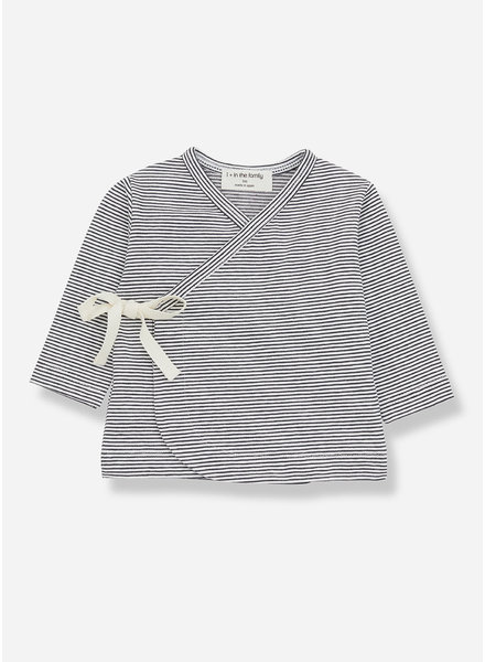 1+ In The Family sol newborn tshirt - anthracite