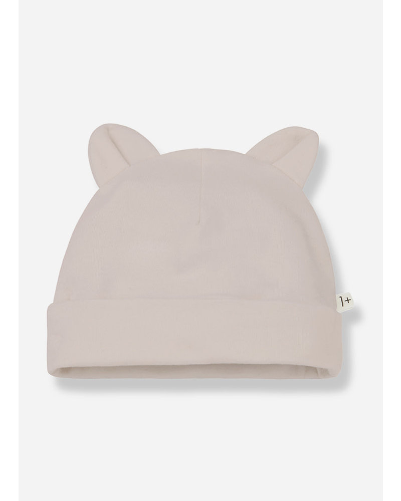 1+ In The Family leo beanie with ears - nude