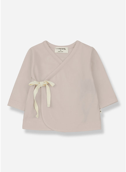 1+ In The Family babette newborn shirt - nude