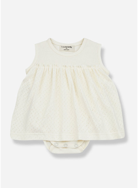 1+ In The Family sybilla dress - ecru