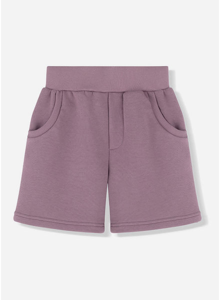 Kids on the moon foggy day shorts
