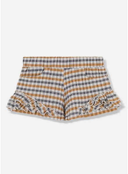 Kids on the moon honey ruffle shorts