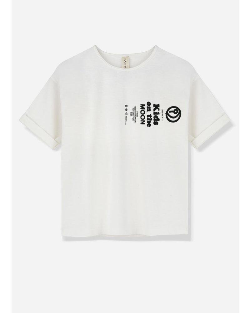 Kids on the moon kotm blink white tshirt