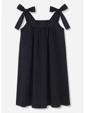 Kids on the moon noir bow dress