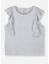 Kids on the moon saint tropez ruffle top