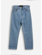 Finger in the nose ollibis 5 pockets tapered fit jeans - bleached blue