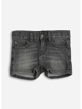 Finger in the nose nova  5 pockets mini shorts - grey denim