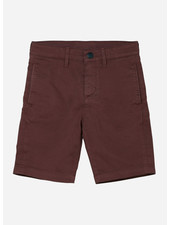 Finger in the nose allen chino fit bermuda shorts - dark plum