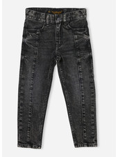 Finger in the nose emma 5 pockets boyfriend fit jeans - snow black