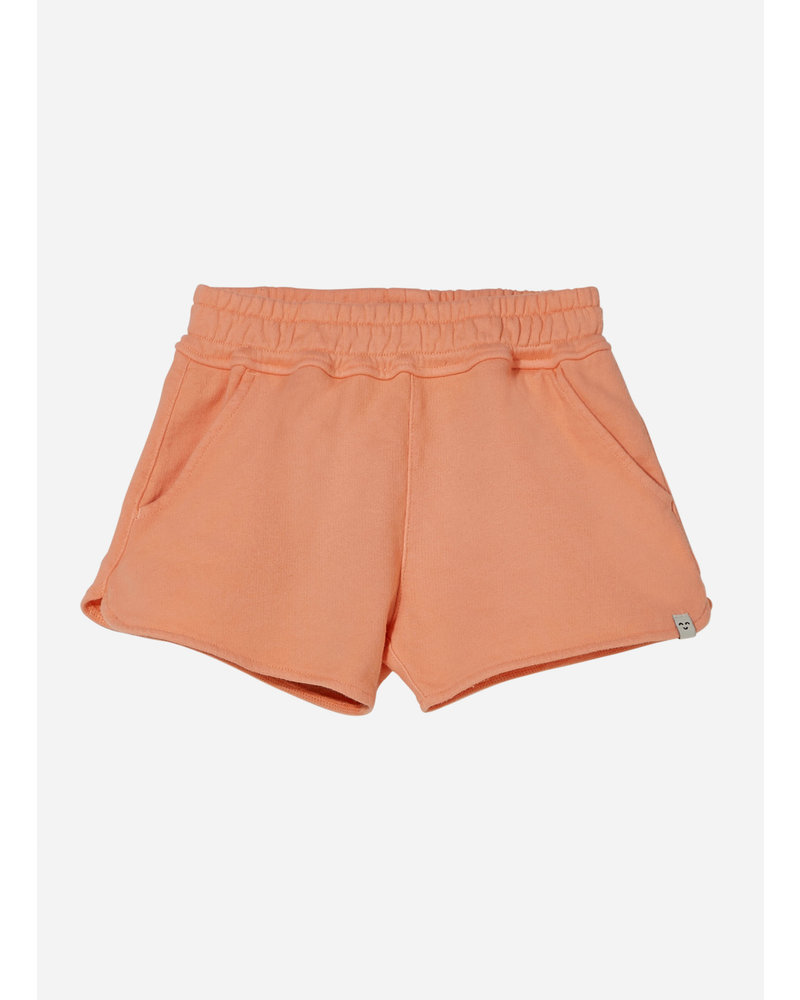 Finger in the nose holiday elasticated shorts - peach