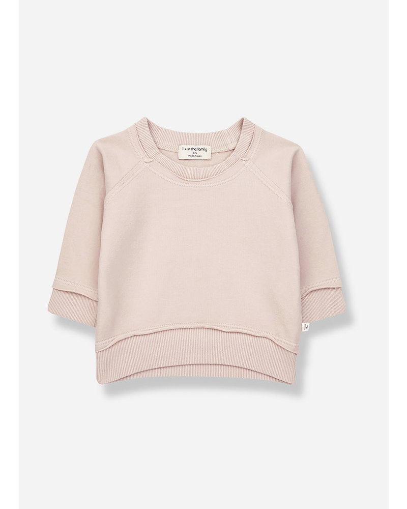 1+ In The Family tristan sweatshirt - rose