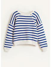 Bellerose fade sweatshirts - stripe a