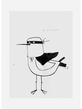 Pomme de Jus originele tekening - A4 - superhero