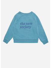 The New Society the new society sweater deep blue