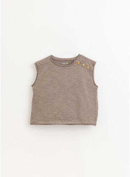 Play Up flame jersey sleeveless tshirt - heidi - 1AI10901 - P9049