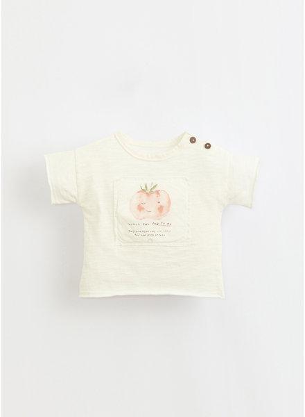 Play Up flame jersey anti-UV tshirt - windflower - 1AI11050 - P0057