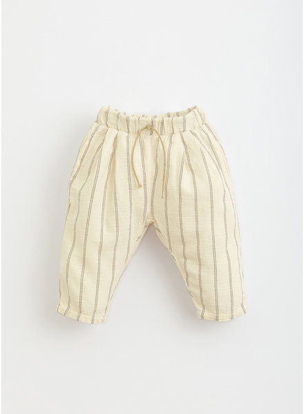 Play Up striped woven trousers -  dandelion - 1AI11603 - P0058