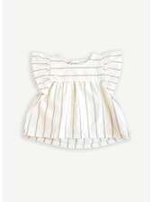 Play Up striped woven tunic - dandelion - 2AI11302 - P0058