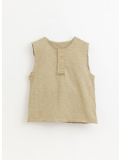 Play Up flame jersey sleeveless tshirt - joao - 3AI10902 - P7154