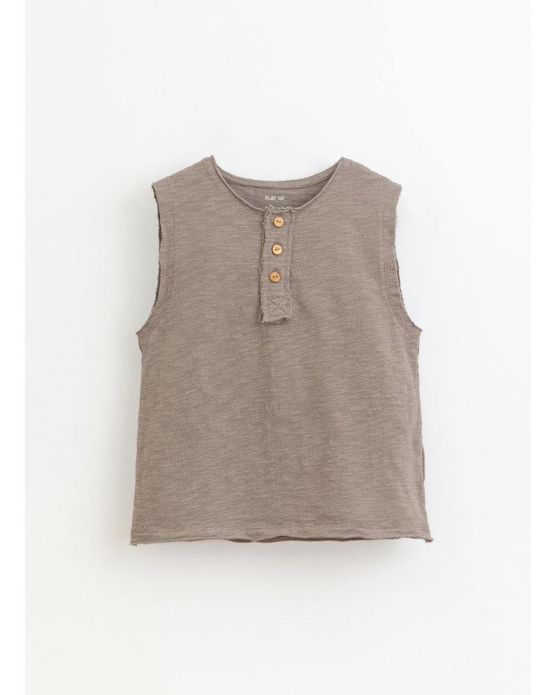 Play Up flame jersey sleeveless tshirt - heidi - 3AI10902 - P9049