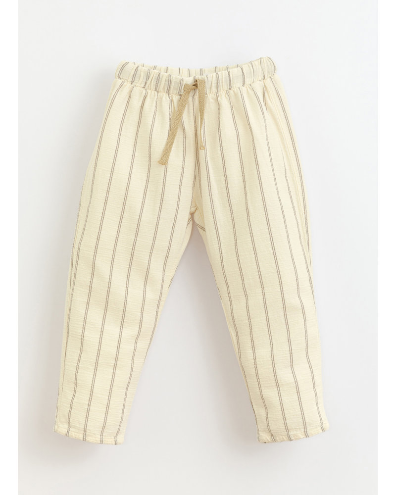 Play Up striped woven trousers - dandelion - 3AI11603 - P0058