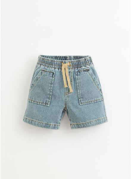 Play Up denim shorts - denim - 3AI11706 - D001