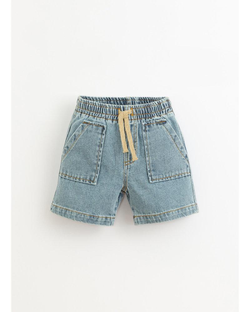 Play Up denim shorts - denim - 3AI11706 - D001