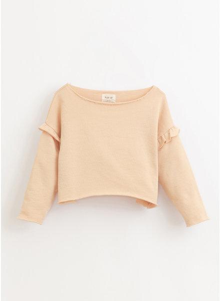 Play Up fleece sweater- egg - 4AI10902 - P4114