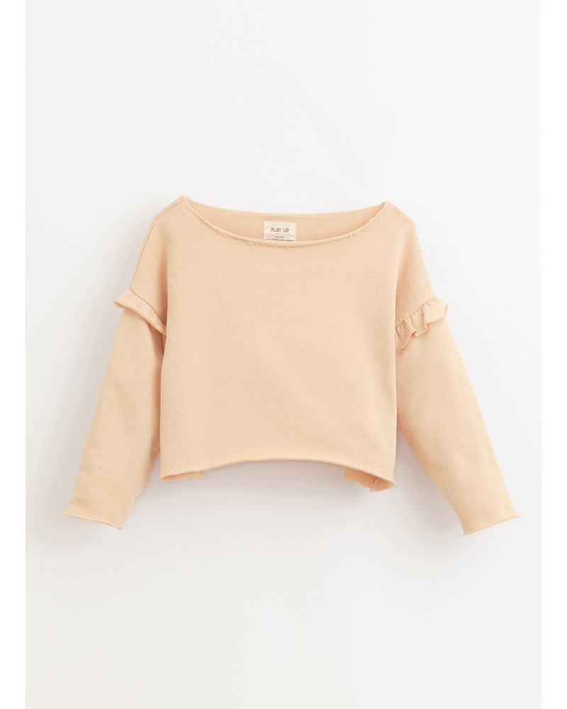 Play Up fleece sweater- egg - 4AI10902 - P4114