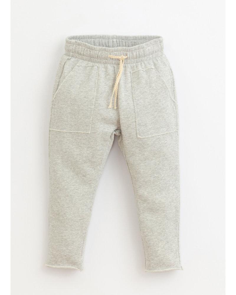 Play Up fleece pants- grey melange - 4AI10905 - M049